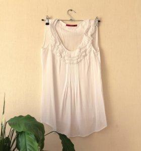 Блуза zarina без рукавов 44