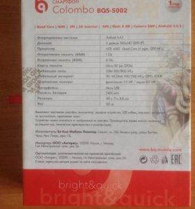 Смартфон BQ Colombo