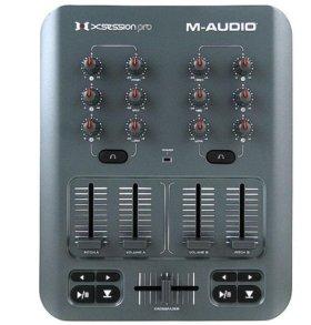 Продам dj микшер m audio x-session