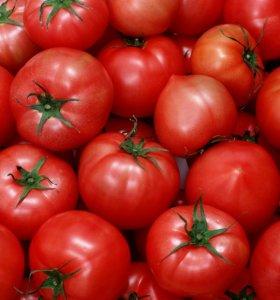Вкусные помидоры.
