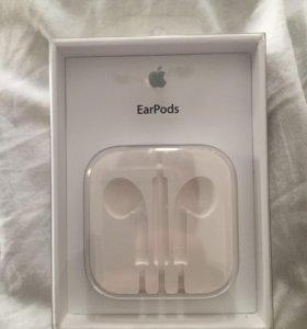 Оригинальные коробки от наушников Apple EarPods