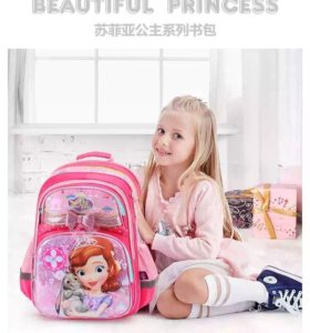 Супер красивый детский школьный рюкзак новый