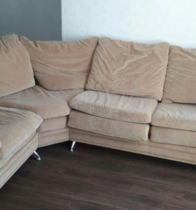 Большой угловой диван раскладной