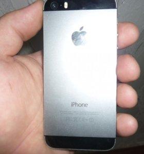 iPhone 5s,Spase Gray,16GB в идеале