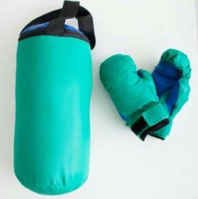 Детский набор ( груша + перчатки)