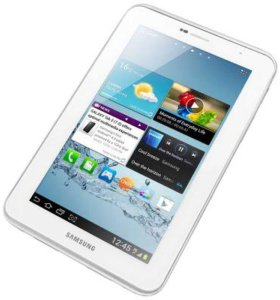 планшет Samsung таб 2 P1010 белый