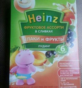 Heinz пудинг+каша гречневая (30гр)