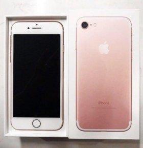 Айфон 7 розовый