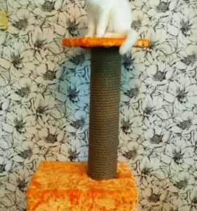 Домик для кошки (когтеточка)