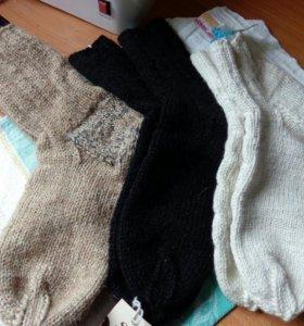 Носки, следочки ,варежки и пряжа---- сама вяжу