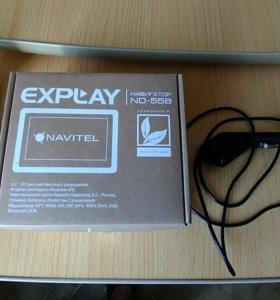 Автомобильный навигатор EXPLAY ND-55B