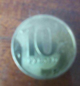 10 рублей 2017г.