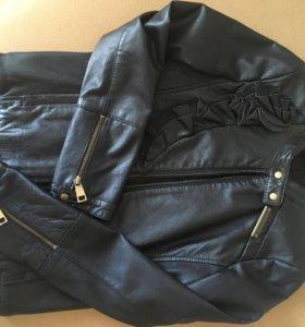 Liujo jeans кожаная куртка