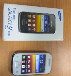 Смартфон Samsung Galaxy Y Duos GT-S6102, 2SIM