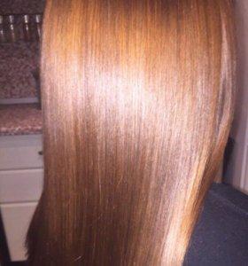 Кератиновое выпрямление волос!Восстановление Botox