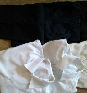 Брюки, рубашки, жилет р 152