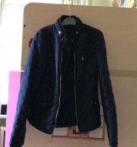 Zara Стёганая женская куртка woman