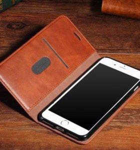 Новый Чехол-книжка Iphone 7 plus