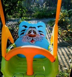 Детские качели Palplay тигрёнок