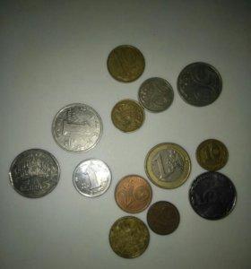 Иностранные монеты микс