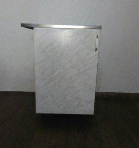 Тумба с мойкой для кухни 50х80(б/у)