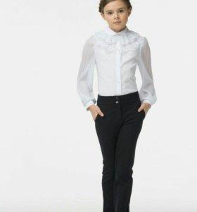 Смена. Школьные брюки на девочку. 152 рост.