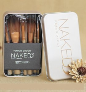 Набор кистей для макияжа 12 шт Naked 4 Urban Decay