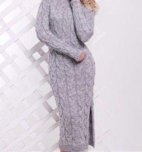 Платье вязаное тёплое‼️Заходите в профиль‼️