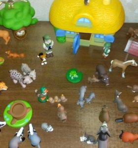 """Игрушки из коллекции """" Животные леса """""""