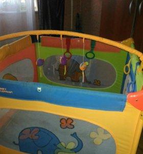 Детский манеж-кровать Jetem Quadro R