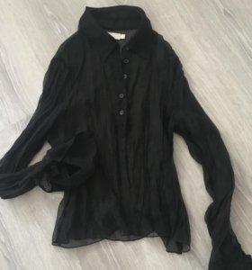Прозрачная блуза/рубашка ICHI