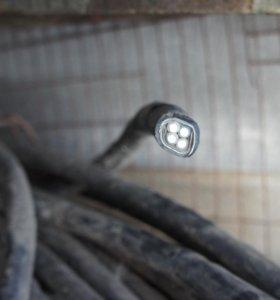 Подземный кабель.