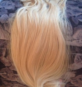 Натуральные волосы блонд hairshop