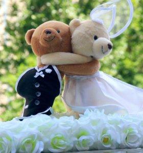На свадебную машину