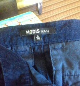 Брюки modis, 46 S, темно-синий