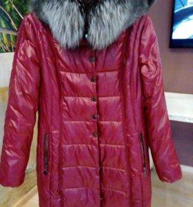 Теплая куртка, 46-48, торг