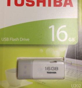 Флэшка 16 Гбайт Toshiba