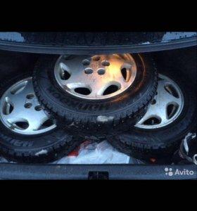 Колёса с дисками 4 колеса на 14
