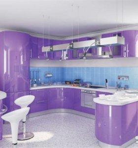 Кухни и шкафы-купе на заказ в Ялте