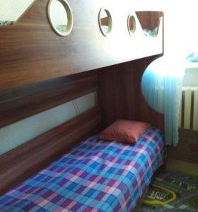 Двухярусная кровать.