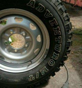 Колеса с Увазовским литьём GT Radial Adventuro M/T