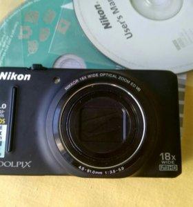 Фотоаппарат Nikon S 9200