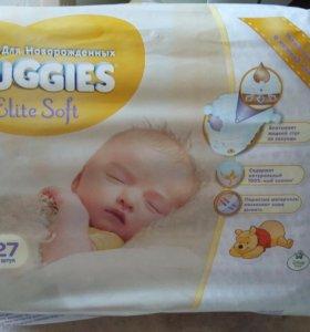 Подгузники Huggies Elite Soft (1)и(2)