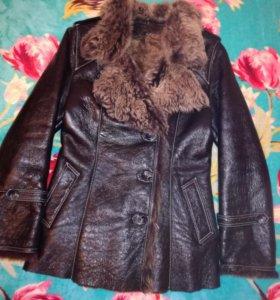 Кожаная куртка/дублёнка на меху