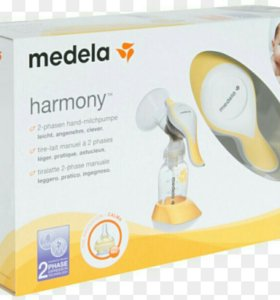 Молокоотсос ручной Medela Harmony+ соска Calma