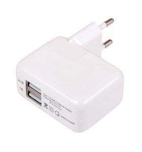 СЗУ на 2 USB IPAD 1200 mAh,2100 mAh
