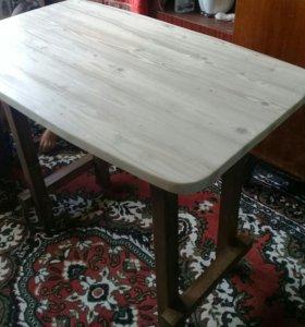 Кухонный стол ручной работы