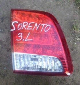 Фонарь задний для Kia Sorento 2009-2016