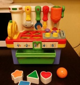 Игрушки пакетом ( на фото нет машинки сортера)