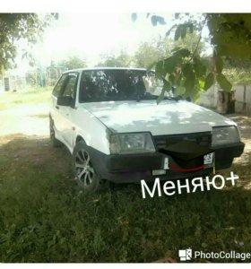 Купэ, ВАЗ 2108 белый
